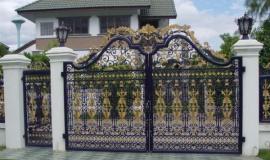 Cổng sắt đồng nai – thi công cổng sắt nghệ thuật tại đồng nai