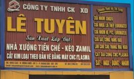 Giới thiệu- Công ty TNHH Cơ Khí Xây Dựng Lê Tuyên